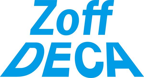 Zoff DECA(ゾフデカ)のロゴ