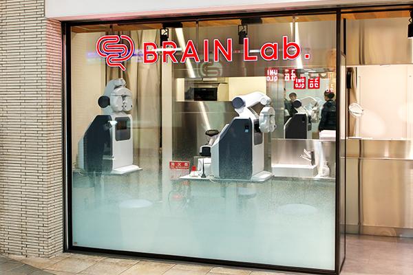 JINS BRAIN Lab.エキュート上野店には視力測定の機器が2台設置されている。
