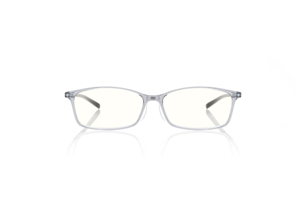 JINS READING GLASSES -Square グレー