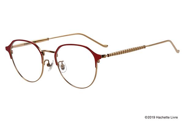 Zoff×Gaspard et Lisa(ガスパールとリサ) エスプリライン ZO192014-23F1 クラウンパント型 カラー:レッド