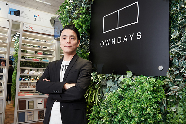 株式会社オンデーズ代表取締役社長 田中修治氏
