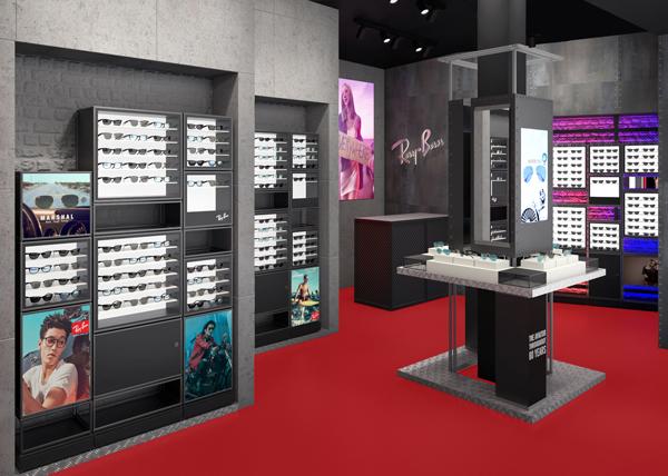 Ray-Ban Store ららぽーと豊洲店 内観イメージ