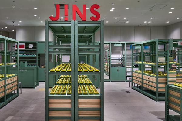 JINS(ジンズ)が銀座ロフトに新店舗オープン、雑貨とメガネの融合を感じられる空間