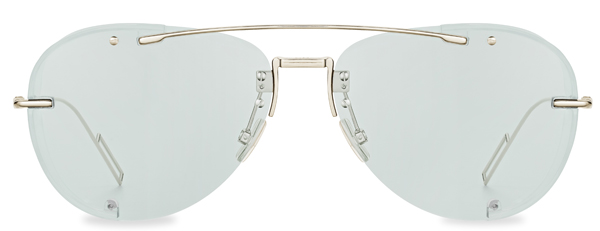 Dior(ディオール) DIORCHROMA1(ディオールクロマ 1) フレーム:クリアゴールドメタル レンズ:クリアブルー 価格:62,000円(税別)