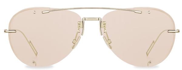 Dior(ディオール) DIORCHROMA1(ディオールクロマ 1) フレーム:ゴールドメタル レンズ:クリアピンク 価格:62,000円(税別) ※dior.comとディオール ブティック限定カラー