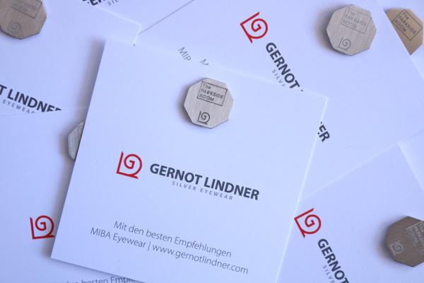 GERNOT LINDNER(ゲルノット・リンドナー)の工場で製作されたスターリングシルバー製「tprオリジナルラペルピン」