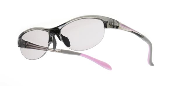 眼鏡市場 megane ichiba sunglass ISG-412 カラー:LGR(ライトグレー) レンズカラー:トゥルーグレー30% ※木村佳乃着用モデル