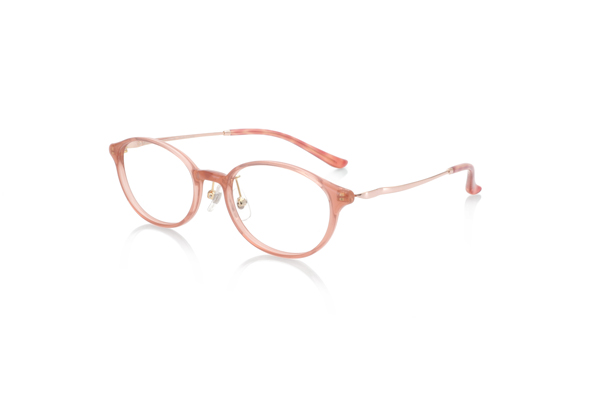 JINS(ジンズ) Combination Airframe–beauté- LRF-19S-255 カラー:サーモンピンク(103)※イエローベース 価格:8,000円(税別)