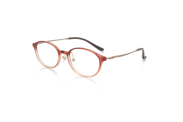 JINS(ジンズ) Combination Airframe–beauté- LRF-19S-255 カラー:レッドササ(507)※イエローベース 価格:8,000円(税別)