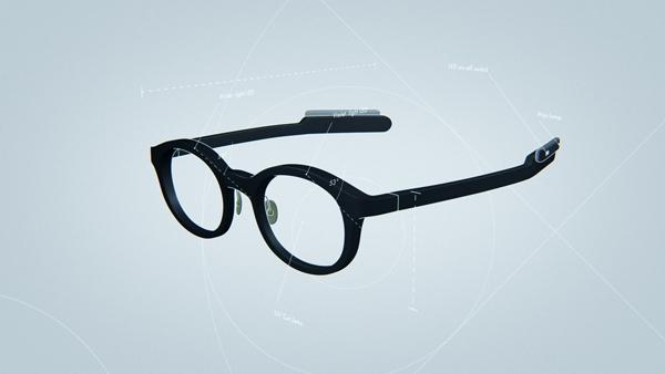 自然な見た目で普通のメガネと変わらないデザインを目指すという