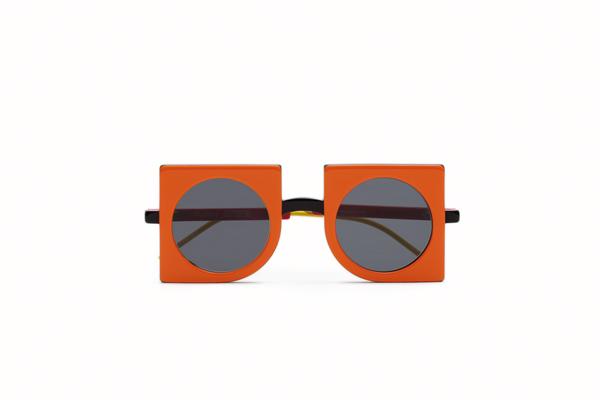 Max Mara(マックスマーラ) NEOPRISMS(ネオプリズム) カラー:オレンジ/ブラック 正面