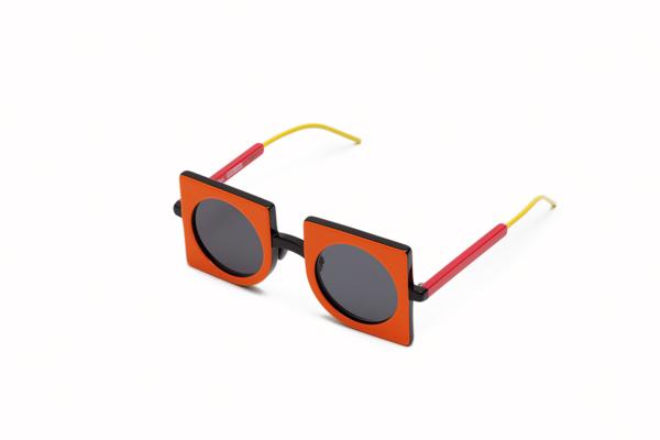 Max Mara(マックスマーラ) NEOPRISMS(ネオプリズム) カラー:オレンジ/ブラック 斜め