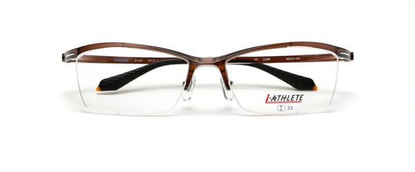 眼鏡市場 i-ATHLETE(アイ・アスリート) IA-450 CLBR(クリアブラウン)