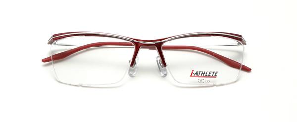 眼鏡市場 i-ATHLETE(アイ・アスリート) IA-451 RE(レッド)