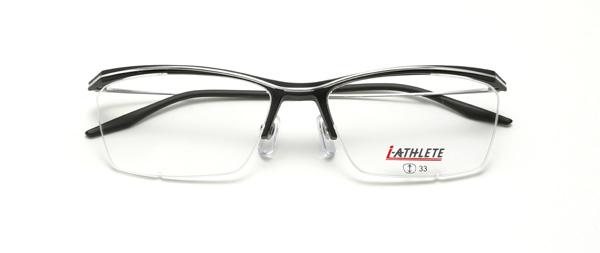 眼鏡市場 i-ATHLETE(アイ・アスリート) IA-451 BKM(ブラックマット)