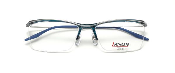 眼鏡市場 i-ATHLETE(アイ・アスリート) IA-451 CLBLU(クリアブルー)
