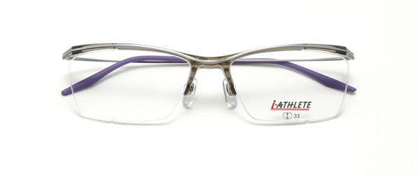 眼鏡市場 i-ATHLETE(アイ・アスリート) IA-451 CLGR(クリアグレー)
