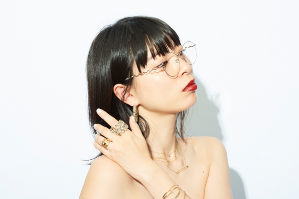 Zoff×LOVE BY e.m. eyewear collection ZO192021_21E1 着用イメージ・その2