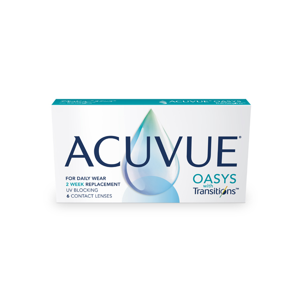 JOHNSON & JOHNSON VISION WITH «ACUVUE®OASYS WITH TRANSITIONSTM»