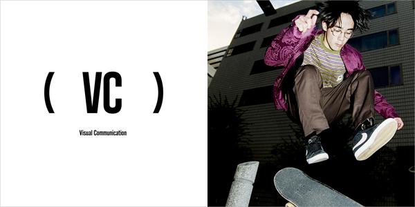 VC(ブイシー)/Visual Communication(ビジュアルコミュニケーション)メインビジュアル