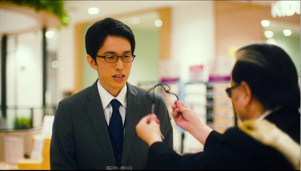 メガネのアイガン テレビCM「やわらかるいPOCOP(ポコプ)」より・その2