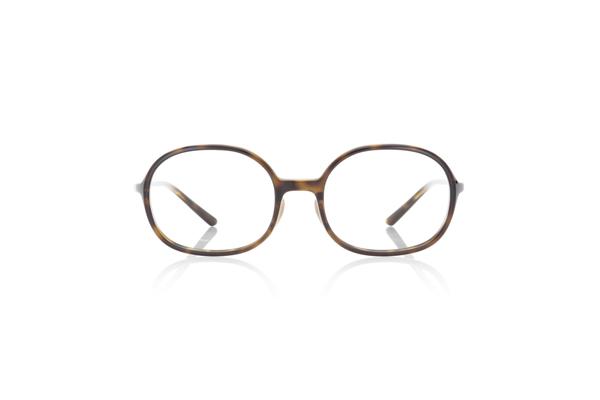 JINS × Ronan & Erwan Bouroullec「SUGATA O」 URF-19S-005 カラー:ブラウンデミ(86) 価格:5,000円(税別、度付きレンズ代込み)