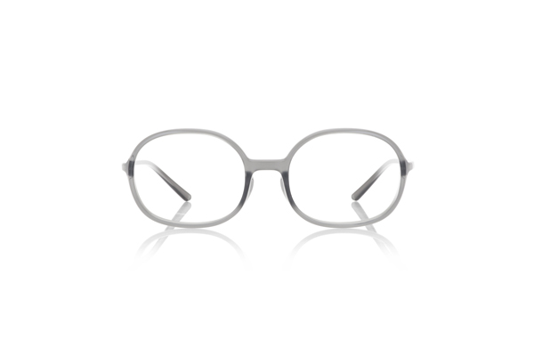 JINS × Ronan & Erwan Bouroullec「SUGATA O」 URF-19S-005 カラー:グレー(92) 価格:5,000円(税別、度付きレンズ代込み)