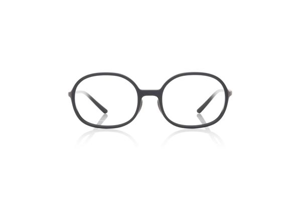 JINS × Ronan & Erwan Bouroullec「SUGATA O」 URF-19S-005 カラー:マットブラック(97) 価格:5,000円(税別、度付きレンズ代込み)