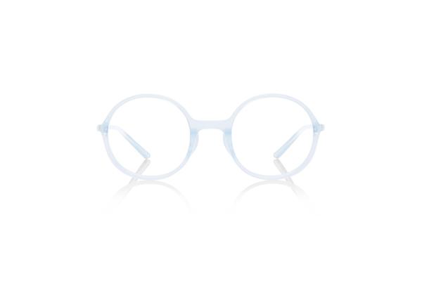 JINS × Ronan & Erwan Bouroullec「SUGATA R」 URF-19S-006 カラー:クリアブルー(00) 価格:5,000円(税別、度付きレンズ代込み)
