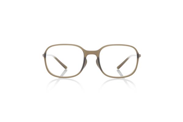 JINS × Ronan & Erwan Bouroullec「SUGATA S」 URF-19S-007 カラー:カーキ(28) 価格:5,000円(税別、度付きレンズ代込み)