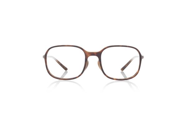 JINS × Ronan & Erwan Bouroullec「SUGATA S」 URF-19S-007 カラー:ブラウンデミ(86) 価格:5,000円(税別、度付きレンズ代込み)