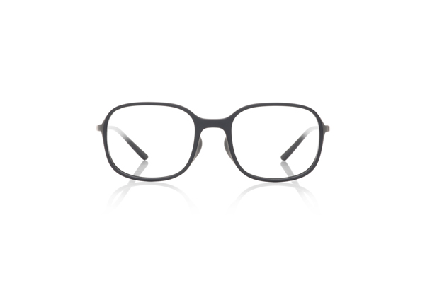 JINS × Ronan & Erwan Bouroullec「SUGATA S」 URF-19S-007 カラー:マットブラック(97) 価格:5,000円(税別、度付きレンズ代込み)