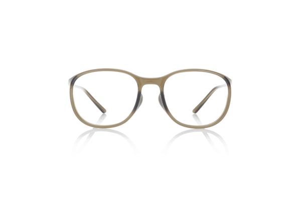JINS × Ronan & Erwan Bouroullec「SUGATA ST」 URF-19S-007 カラー:カーキ(28) 価格:5,000円(税別、度付きレンズ代込み)