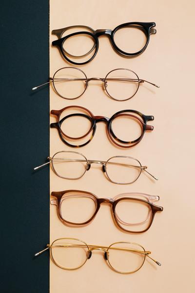 10 eyevan(テン アイヴァン)セルロイドコレクション&メタルフレームコレクション