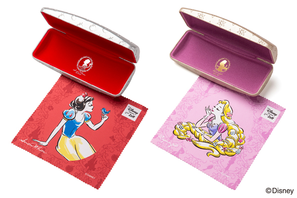 Disney Collection created by Zoff Princess Series Classic Line メガネ拭き・専用ケース