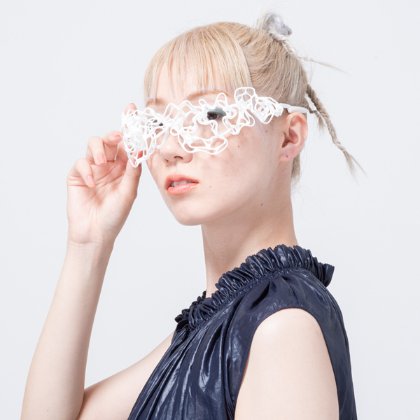 Lace Eyeglasses 着用イメージ