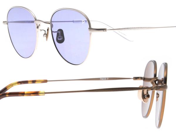 「PAGE 7」は日本のメガネ製造技術の粋を尽くしたサングラス