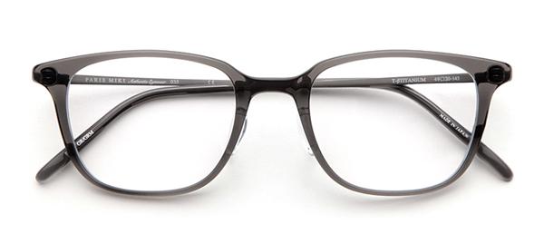 PARIS MIKI Authentic Eyewear 035 カラー:グレー/グレーマット