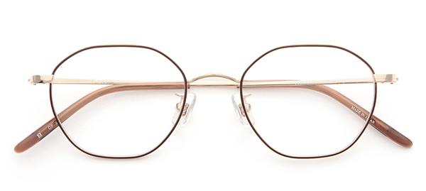 PARIS MIKI Authentic Eyewear 036 カラー:ゴールド/ブラウン