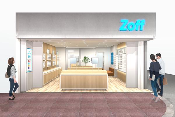 Zoff 京都河原町店 外観イメージ