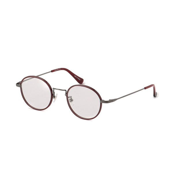 Y's EYEWEAR G01(81-0001) カラー:3(Red Brush Gunmetal)