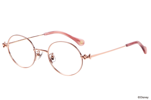 Disney Collection created by Zoff Minnie's Ribbon Series(ディズニーコレクション クリエイテッド バイ ゾフ ミニーリボンシリーズ)ZF202008_21E1(Pink Gold Shiny)