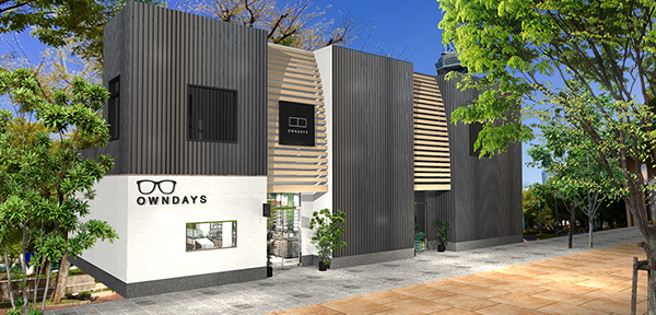 OWNDAYS RAYARD Hisaya-odori Park店 外観イメージ