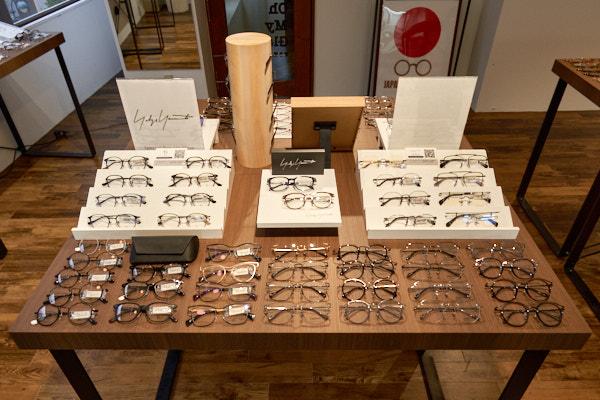Oh My Glasses TOKYO 渋谷公園通り店で開催中のYohji Yamamoto(ヨウジヤマモト)&Y's(ワイズ)ポップアップストア・その2