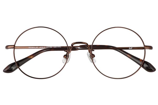Zoff CLASSIC LINK Collection(ゾフ クラシック リンクコレクション)ZO212001_43E1(ブラウン)