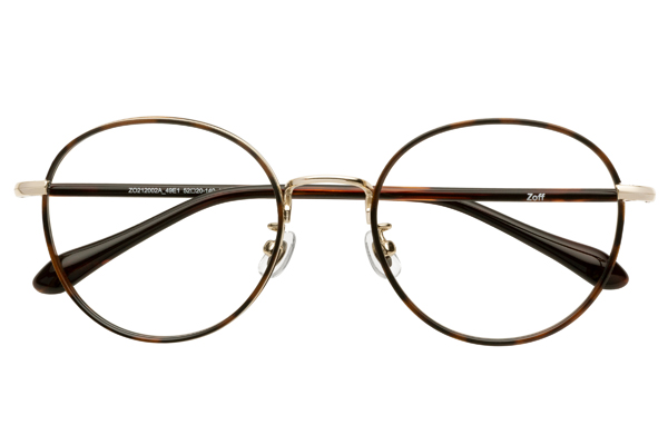 Zoff CLASSIC LINK Collection(ゾフ クラシック リンクコレクション)ZO212002_49E1(べっ甲柄)