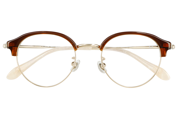 Zoff CLASSIC LINK Collection(ゾフ クラシック リンクコレクション)ZP211001_43A1(ブラウン)