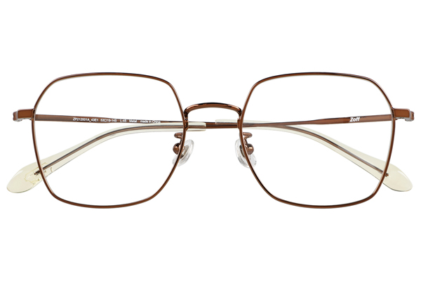 Zoff CLASSIC LINK Collection(ゾフ クラシック リンクコレクション)ZP212001_43E1(ブラウン)