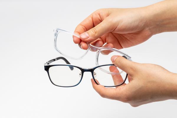 PCメガネにもなる花粉・飛沫対策メガネ、眼鏡市場「EYE PROTECTION GLASSES(アイプロテクショングラシーズ)」