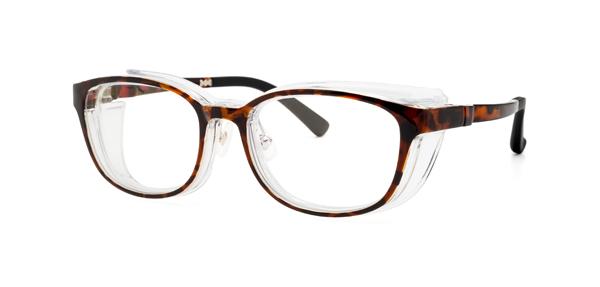 眼鏡市場 EYE PROTECTION GLASSES(アイプロテクショングラシーズ) KF-103 カラー:デミブラウン